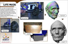 Projects - Lincoln Life Mask